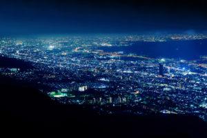 摩耶山・掬星台からの夜景